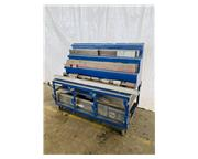 Assorted Press Brake Tooling comes with rolling rack