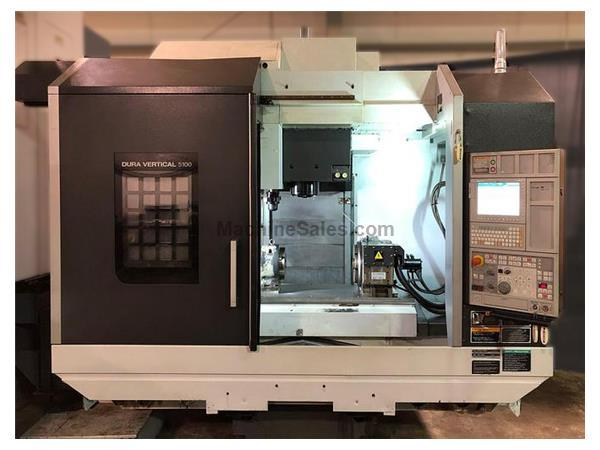 "DMG MORI DV5100 F0iMD CNC Control 53.1"" x 23.6"" Table"