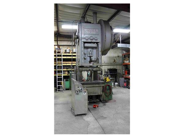 MINSTER G1-150 OBI SINGLE CRANK FLYWHEEL PRESS