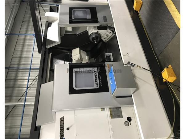 2017 Okuma LB-3000 EXII MYW BB Multi Axis CNC Turning Center W/ Sub-Spindle