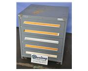 "Stanley Vidmar cabinet, 5- 5"" drawers, #A2703"