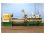 """25"""" Swing 120"""" Centers Lion C-10T ENGINE LATHE, Inch/Metric,Taper,3-Jaw,2 Steady"""