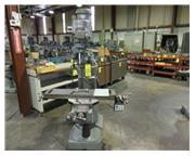 "42"" Table 2HP Spindle Bridgeport Series I VERTICAL MILL, Vari-speed, R-8, Chrom ways,"
