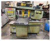 "USED HYD-MECH MODEL S-20 MANUAL MITERING 13"" X 18"" BANDSAW, Year"