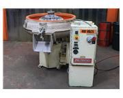 """5 Cu. Ft. Almco OR-5C, NEW 1998, 40"""" DIA. ROUND BOWL, , VIBRATORY FINISHER, PANEL TIM"""