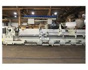 "32"" Swing 200"" Centers Poreba TPK-80-5M ENGINE LATHE, Inch/Metric, Gap, 3-Jaw, D"