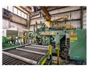 Peddinghaus PCD1100 Beam Drill & Meba 1140/510 Saw Line With Conveyor &