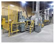 SURFACE COMBUSTION MESH BELT HARDENING FURNACE & OIL QUENCH (13851)