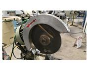 """11"""" Pedrazzoli # SUPER-BROWN-SPECIAL , compound miter cold saw, air cylinder clamping"""