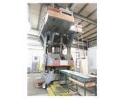 """2500 Ton, Lake Erie , 4-post hydraulic press, 24"""" stroke, 46"""" SH, 58"""" x 60&"""