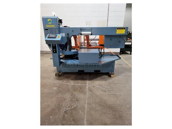 "14"" X 20"" DoAll Model 500SNC Structural Miter Cutting Automatic H"