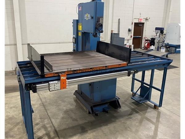 "20"" x 18"" DoAll 2018-DW60 Diamond Saw, 51"" x 60"" Auto-f"