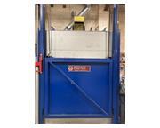WISCONSIN 1250 F GAS BOX DRAW FURNACE, 4'W  6'L  3'H