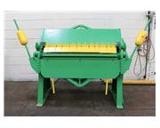 """12Ga Thickness 48"""" Width Chicago BPO-412 FINGER (BOX  PAN) BRAKE"""