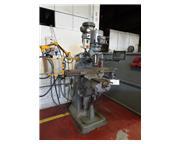 "42"" Table 2HP Spindle Bridgeport-Hardinge Series I VERTICAL MILL, Vari-Speed, R8, New"