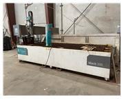 6' x 13' Flow Mach 200 4020 CNC Waterjet Cutting System