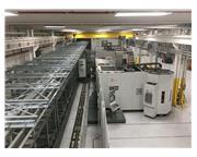 (3) Used Hermle Model C52U - FMS, 5-Axis CNC Horizontal Machining Centers w/ Liebherr PHS