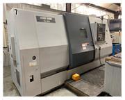 "Mori Seiki ZL-35-750 CNC Lathe, 12"" Chuck, 2000 RPM, Fanuc MSC-501, 4-Axis, 2-Turrets"