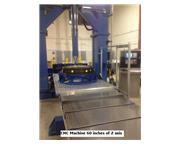 "Tratech Model 120-60 CNC Bridge Type Mill, (LONG Z AXIS),  Travels: X- 120"", Y-60&quo"