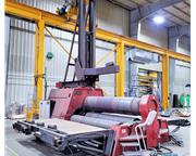 "DAVI MCB 3070 WT 3.5"" x 10'' CNC 4-Roll Hydraulic Plate Roll"