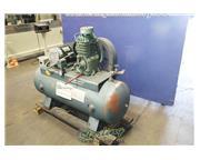 Speedaire #32492, 5 HP, 80 gallon horizontal tank, 220 V., 3-phase, #A6294