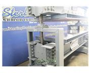 """Black Brothers #121, mechanical pre, 8' x4' bed, 43"""" max open, 125 psi, 5 HP, pedesta"""