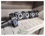 """Haas #ST-25Y, 125"""" X, 78"""" Y, 77"""" Z, 6000 RPM, 12 automatic tool changer, 8."""