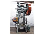 80 Ton, Federal #7, air counter balance, automatic lube, dual palm Control, 7-1/2 HP, air