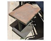 "500 lb. Lexco #HT-500-FR, hydraulic lift table, 30"" x 20"" table, 18"" lift,"