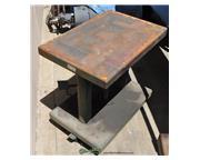 "500 lb. Lexco #HT-500-FR, hydraulic lift table, 30"" x 28"" table, 18"" lift,"