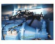 "38 Ton, Knuth #AHK-1235, hydraulic CNC press brake, 4' overall, 39.5"" between housing"