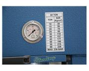 "66 Ton, Baileigh #HSP-66M-HD, 15.7"" stroke, 29.5"" tbl., 2 speed hydraulic, press"
