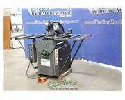 """8 Ton, Rotex #18BCH, hydraulic turret punch w/setup table, 18 station, 24"""" throat, pu"""