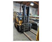 """12500 lb. Caterpillar #T12D, 177"""" lift height, 51"""" carraige width, propane, trip"""