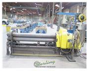 """6' x 9/64"""" Custom, 7"""" roll diameter, 3 rolls hydraulic driven, power roll adj.,"""