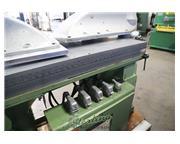 "20 Ton, J. Sandt #415, hydraulic double clicker press, 18"" x 29"" planten head, #"