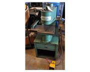 5 Ton, Unipunch #1012-UP, air over hydraulic deep throat press, foot operated, air control