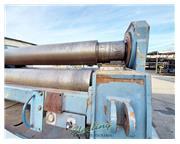 """120"""" x 1.73"""" Durma #HRB-4-3040, 4-roll, hydraulic drop end, pedestal stand, 2011"""