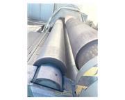 """120"""" x 3/4"""" Durma #HRB-3-3018, 3-roll hydraulic plate roll, hydraulic drop end,"""