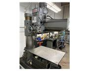"""4' Arm Lth 13"""" Col Dia Ikeda RM-1175 RADIAL DRILL, Power Elevation  Clamping,7.5 HP,#"""