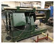 20000 lb. American Steel Line #1000, uncoiler/recoiler, hydraulic push off, vari-speed, 54