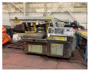 "20"" x 30"" Hyd-Mech #M-20A, fully automatic, 50-350 FPM, Carbide blade, PLC 500,"