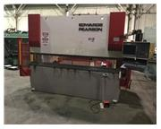 """168 Ton, Edwards /Pearson #PR4-150/3100, hydraulic CNC, 10' overall, 102"""" between hou"""