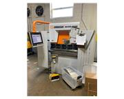"""44 Ton, Ermak #MICRO-BEND-3.3X44, CNC hydraulic, 3' overall, 31.5"""" between housing, 9"""