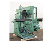 """68"""" Table 15HP Spindle Cincinnati-Milacron 315-16, NEW 1986, 2 Arbor Supports  Outboa"""