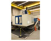"""5"""" Spindle 98"""" X Axis Giddings  Lewis PC-50 HORIZONTAL BORING MILL, 6-Axis Fanuc"""