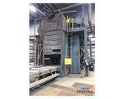 Pangborn ES-1533 Rotoblast Vertical Plate & Structural Steel Blast Clea