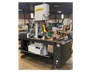 Used Hyd-Mech VW-18 Semi-Automatic Vertical Mitering Band Saw