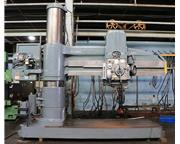 """8' Arm Lth 19"""" Col Dia Carlton 4A RADIAL DRILL, #6MT, Pwr Elevation  Clamping, 25 HP,"""