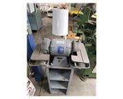 "Baldor #500, 6"" wheel, carbide grinder, diamond wheel, work light, stand, #A5832"